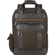 "Solo Executive Carrying Case (Backpack) for 15.6"" Notebook - Brown"