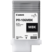 Canon PFI-106 Matte Black OEM Ink Cartridge