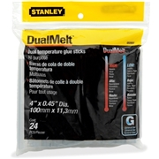 "Stanley Dual Temperature 4"" Glue Sticks"