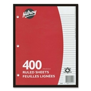 ACCO Brands Corporation Hilroy 7mm Ruled With Margin Filler Paper