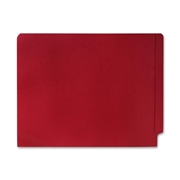 Smead Manufacturing Company Smead 25710 Red End Tab Colored File Folders with Reinforced Tab