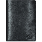 MANCINI EQUESTRIAN-2 Carrying Case (Wallet) for Passport, Credit Card, ID Card, Travel Essential - Black