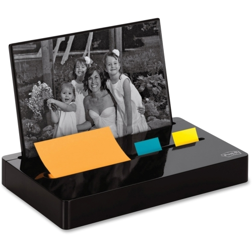 3M Post-it Pop-up Notes Glossy Desk Organizer