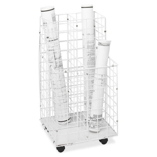 Safco Products Safco 4 Compartments Wire Storage File