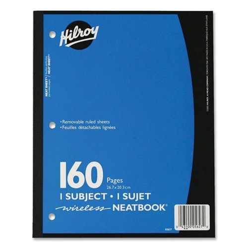 ACCO Brands Corporation Hilroy Neatbooks One Subject Notebook