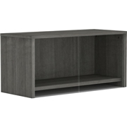 Lorell Weathered Charcoal Wall Mount Hutch