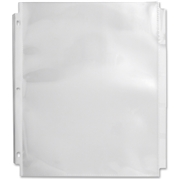 Sparco Products Sparco Top Loading Sheet Protectors with Index Tab