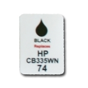 HP 74 Labels
