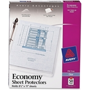 Avery Top Loading Sheet Protector