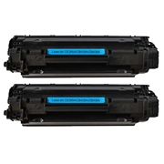 HP Compatible 36A 2pk (CB436AD#004 2PK) Toner Cartridge