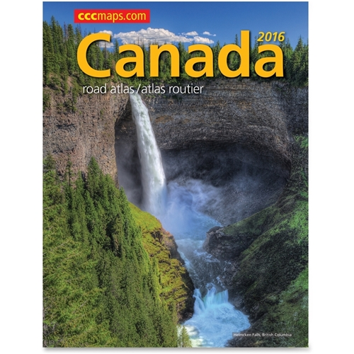Canadian Cartographics Corporation CCC Maps 2012 Canada Road Atlas Travel Printed Manual