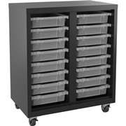 Lorell Pull-out Bins Mobile Storage Unit