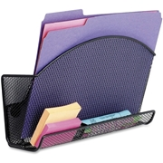 Safco Onyx 4180BL Magic Magnetic File Pocket With Organizer