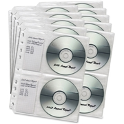 First Base MP-949 CD/DVD Storage Binder Insert Sheet