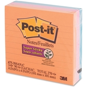 3M Post-it Super Sticky Ruled Notes