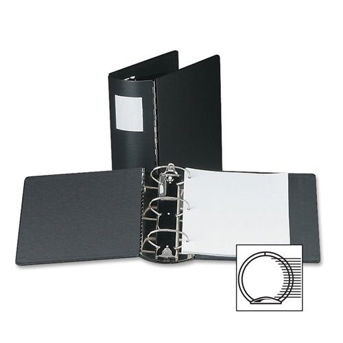 Acco Metal Hinge Elliptical Ring Binder