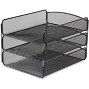 Safco Onyx Triple Tray