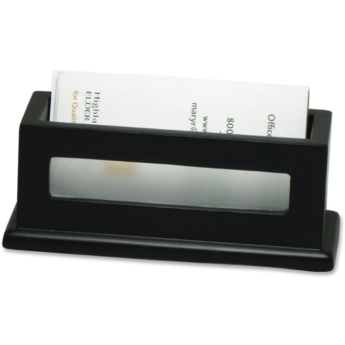 Victor Technology, LLC Victor Midnight Black Business Card Holder