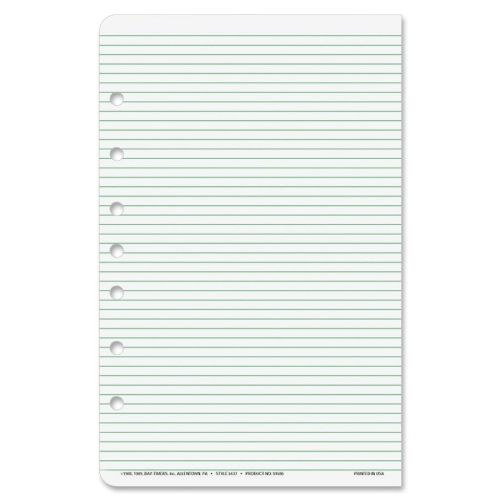 Day-Timer Multipurpose Lined Organizer Pages