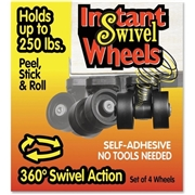 Master Manufacturing Company RollArounds Instant Swivel Wheels