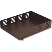 Lorell Stamped Metal Front Loading Letter Tray