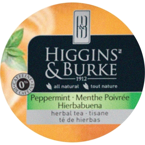 HIGGINS & BURKE H&G Peppermint Herbal Tea K-Cup for K-Cup Brewer