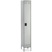 Safco Products Safco Single-Tier Two-tone Locker with Legs