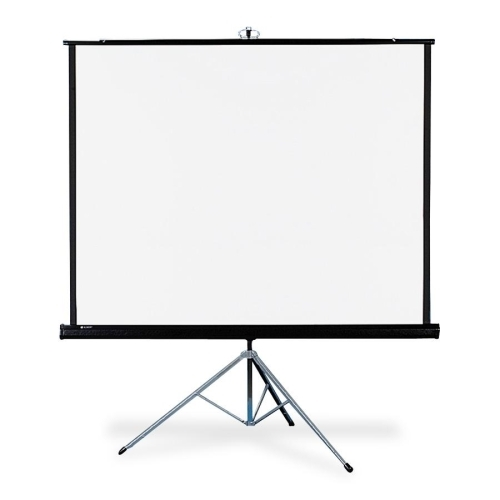 "ACCO Brands Corporation Quartet Manual Projection Screen - 84.9"" - 1:1 - Floor Mount"