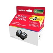 Canon PG-210XL/CL-211XL Pack OEM Ink Cartridge