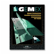 Gemex, Inc Gemex Heavyweight Sheet Protector