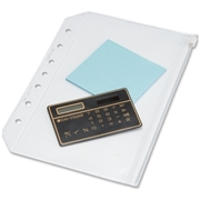 ACCO Brands Corporation Day-Timer See-Though Zipper Pouch