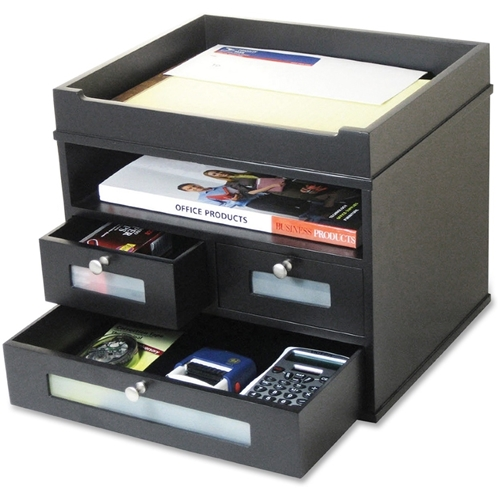 Victor Technology, LLC Victor Midnight Black Tidy Tower Organizer
