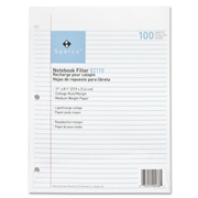 Sparco Products Sparco Notebook Filler Paper
