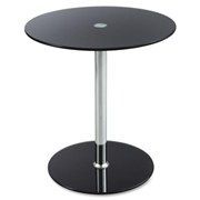 Safco Products Safco Tempered-glass Accent Table
