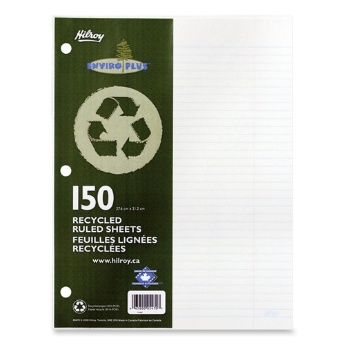 ACCO Brands Corporation Hilroy 05470 Recycled Notebook Filler Paper