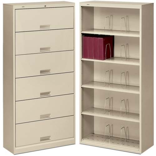 HON 600 Series Shelf Open File Cabinet