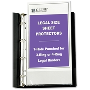 C-Line Products, Inc C-Line Top Loading Legal Sized Sheet Protector