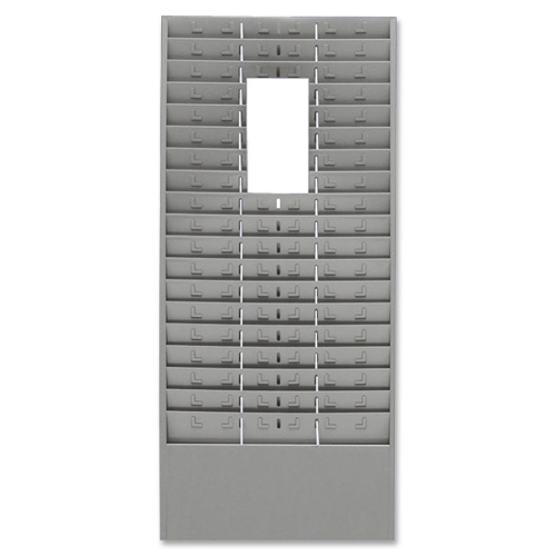 MMF Time Card Rack with Adjustable Dividers