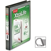 TOPS Products Cardinal XtraLife ClearVue Non-Stick Locking Slant-D Ring Binder