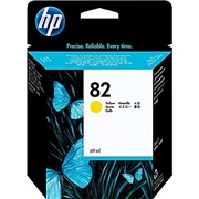 HP #82 Y (C4913) OEM Ink Cartridge