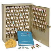 MMF Industries Steelmaster Two-Tag Cabinet - 120 Keys