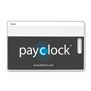 Lathem Payclock Express System Badge