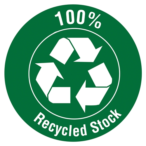 Smead Manufacturing Company Smead 73611 Redrope 100% Recycled End Tab Extra Wide Pocket