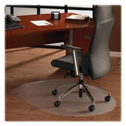 Cleartex Hardwood Contoured Chair Mat