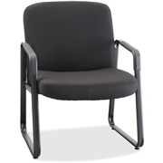 Lorell Big and Tall Fabric-Upholstered Guest Chair