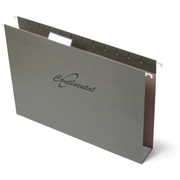 "Continental Filing System Continental 2"" Box Bottom Hanging Folders"