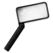 Sparco Products Sparco Rectangular Magnifier