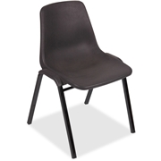 Lorell Plastic Stacking Chairs