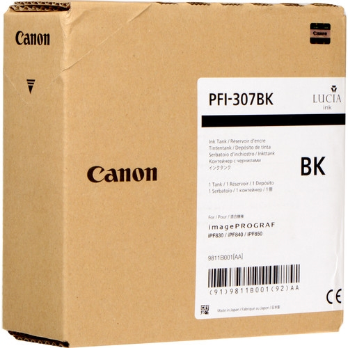 Canon PFI-307 Black OEM Ink Cartridge