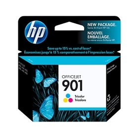 HP #901 C (CC656AN) OEM Ink Cartridge